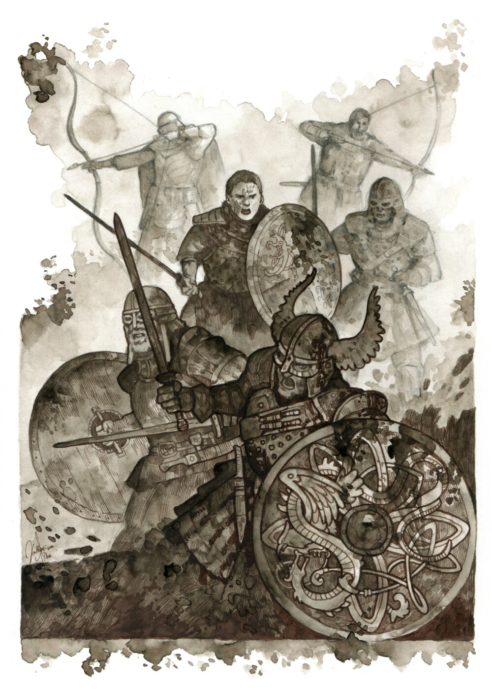 The Fight of Beorn against Phileasson