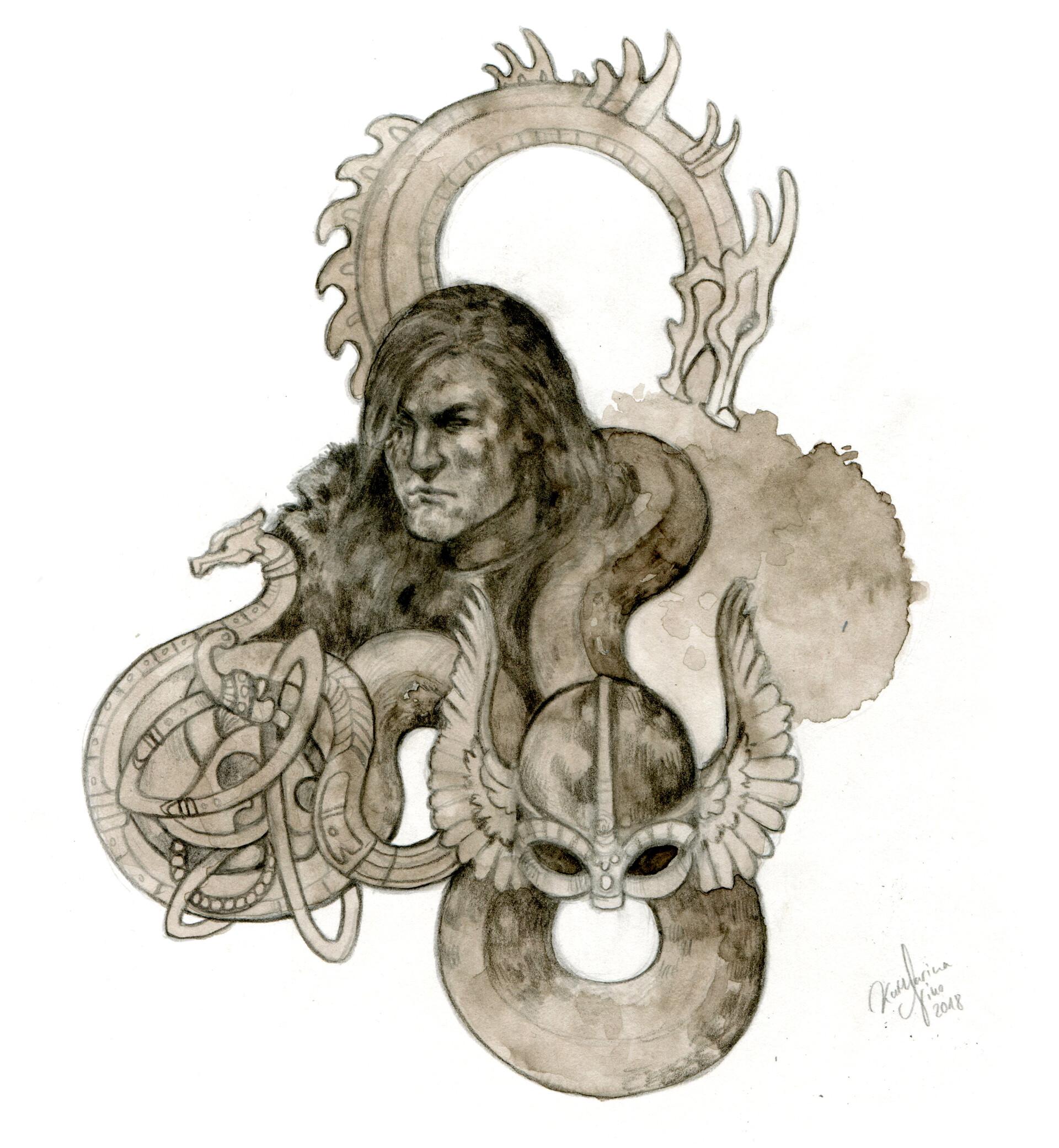 Vignette of Beorn