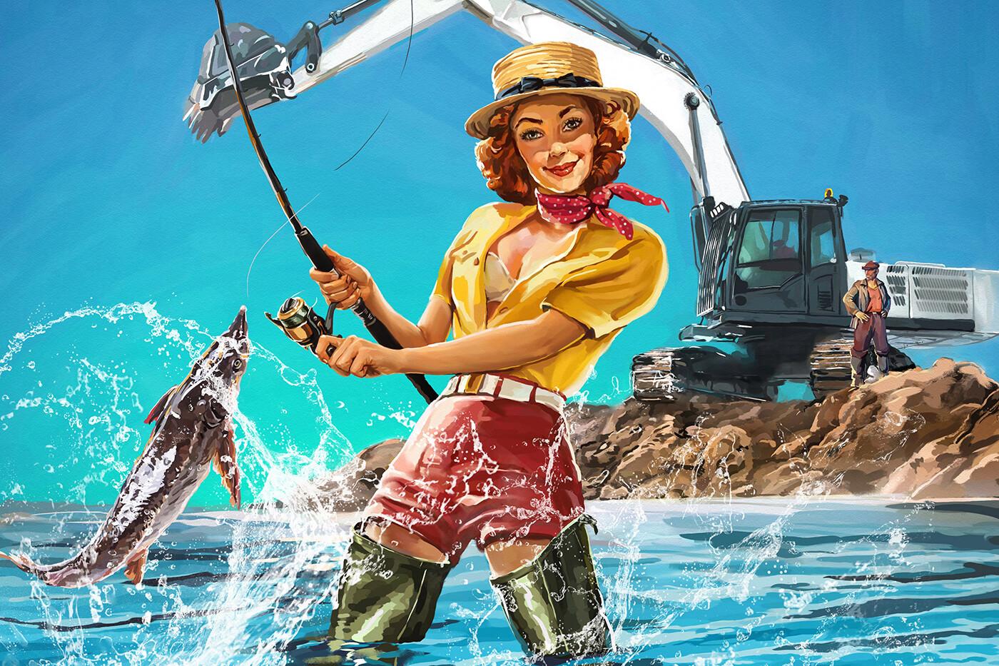 Axana zasorina axana zasorina fishing copy