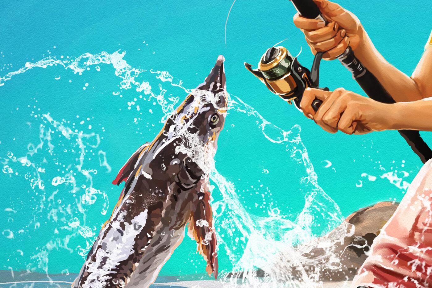 Axana zasorina axana zasorina fishing cop2y