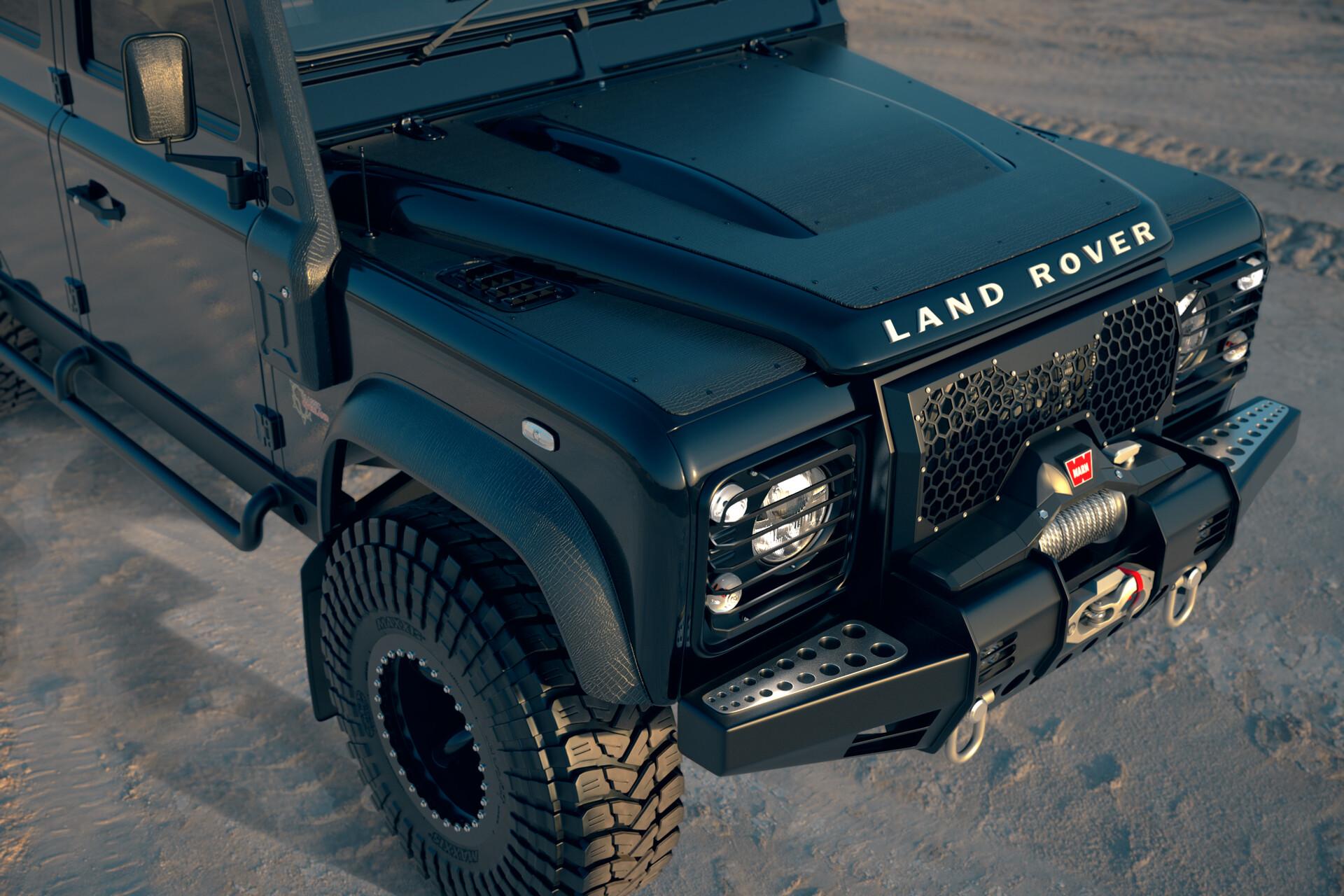 Michael Lockett 6x6 Land Rover Defender