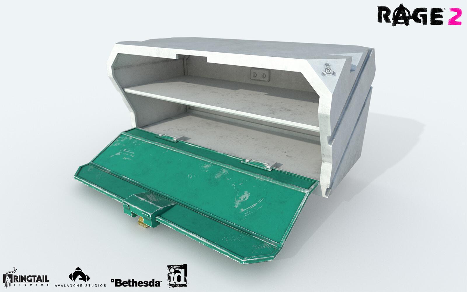 Cupboard Sci-Fi