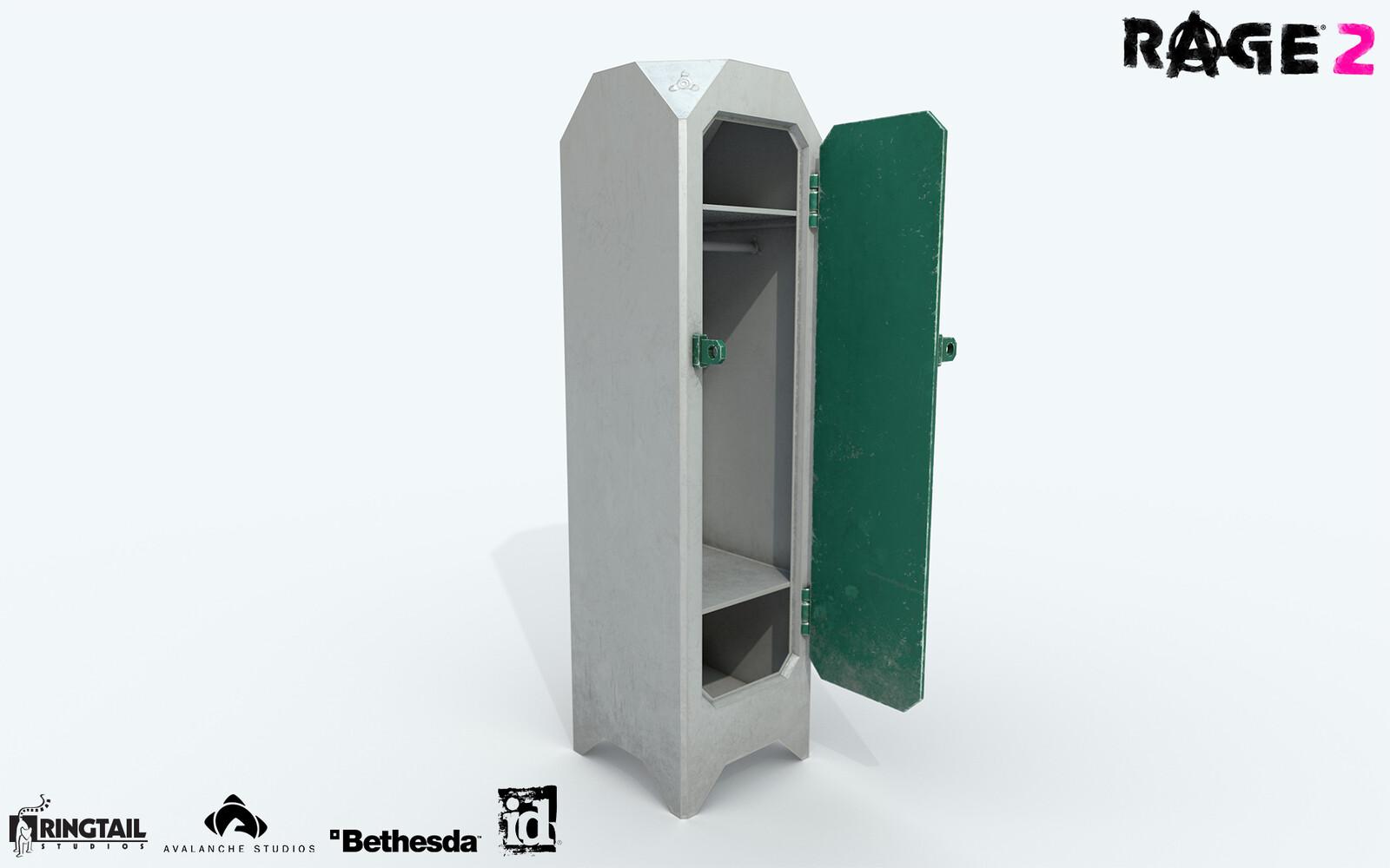Locker Sci-Fi