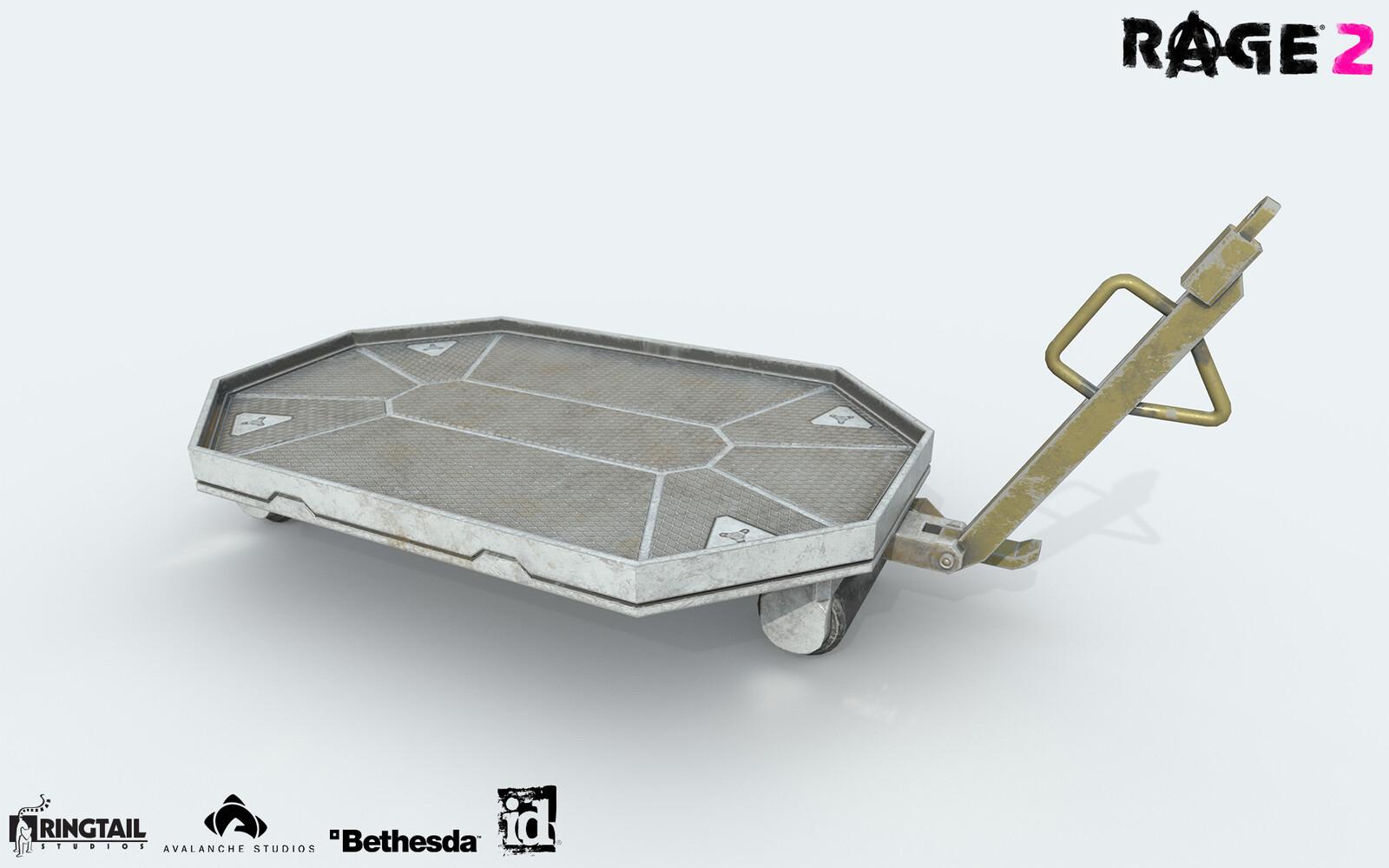 Trolley Sci-Fi