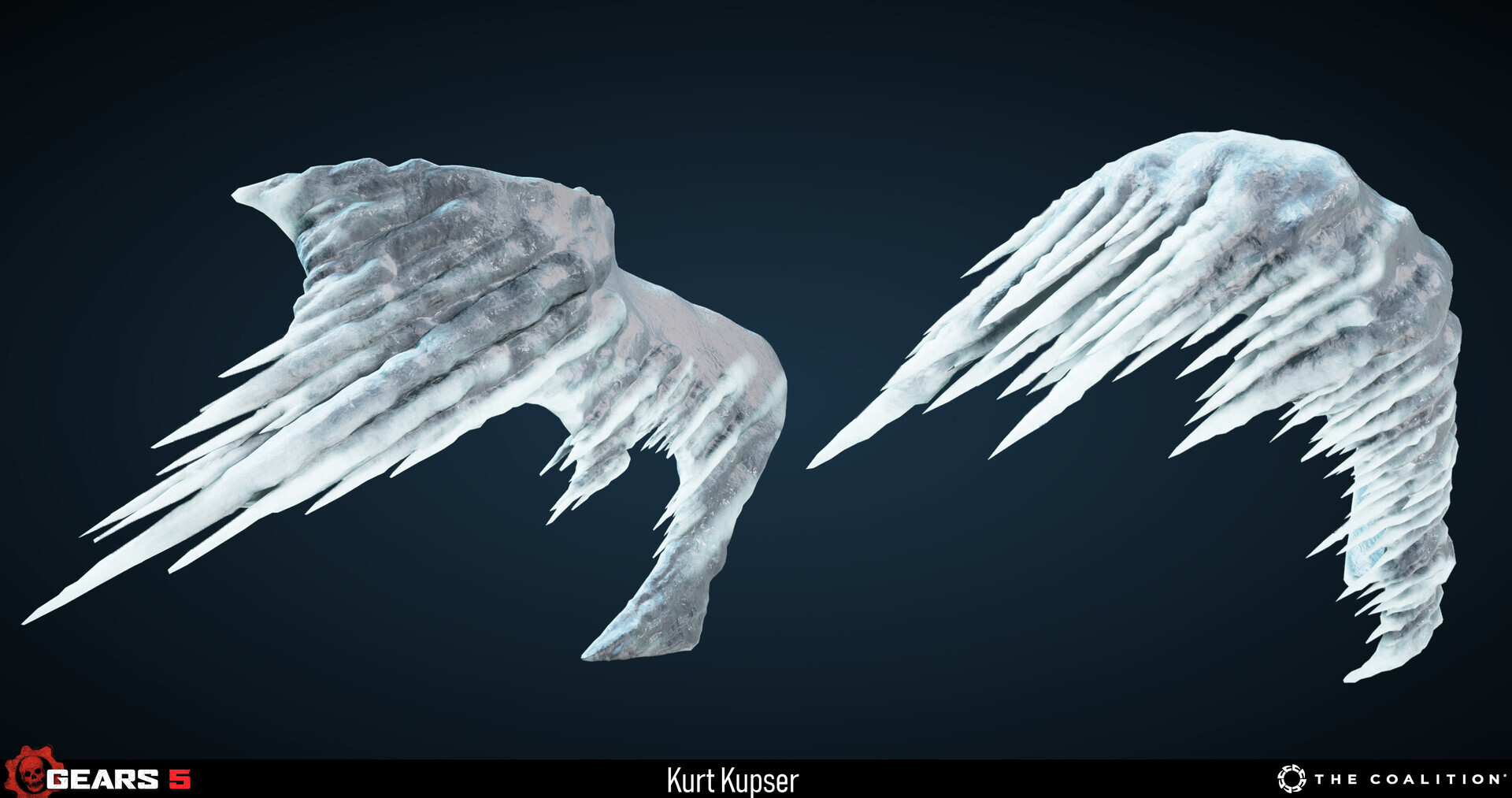 Example of the advection ice assets applied to some assets. Models and texturing by Cat Yang https://www.artstation.com/goodbyekitty137