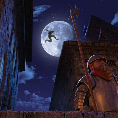 Mikael quites cidade noite final