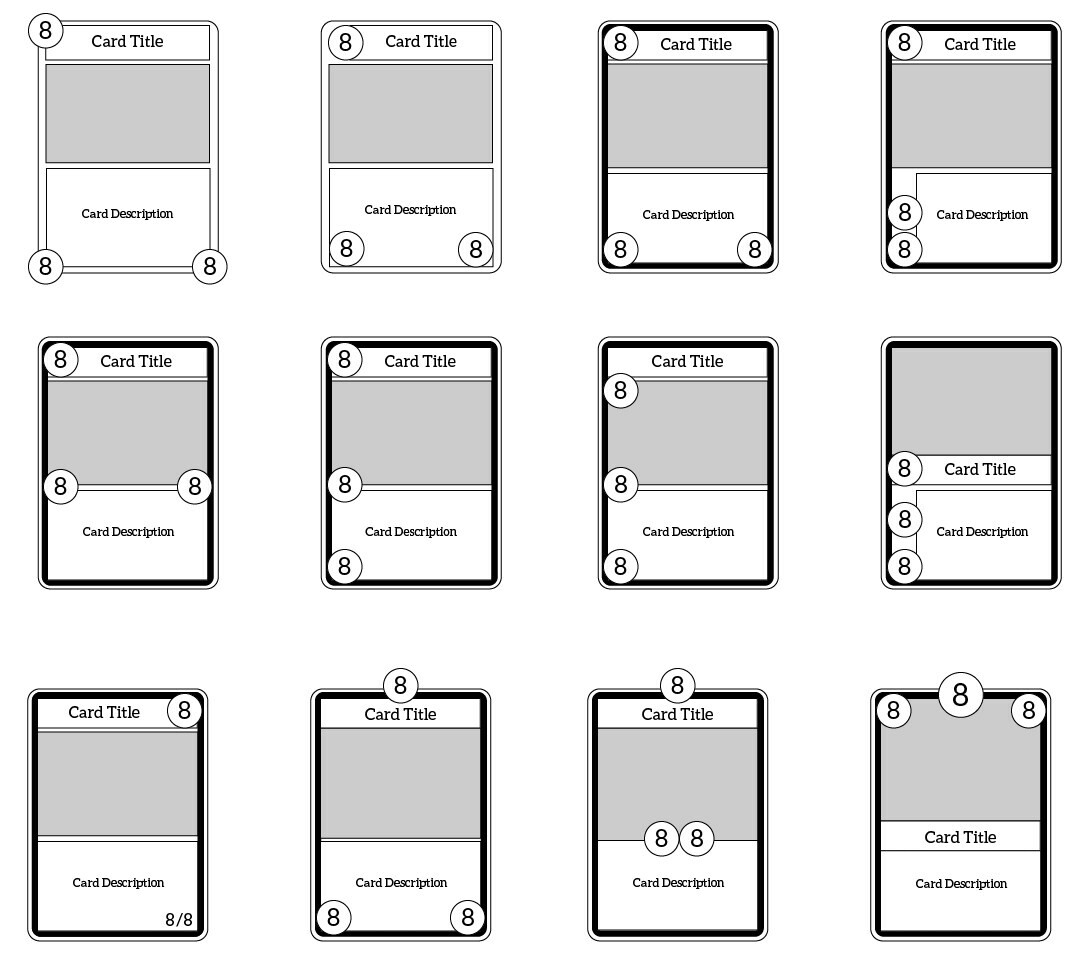 I drew up a number of wireframes to quickly explore different options.