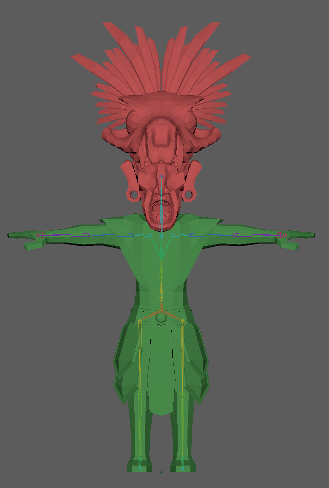 Model and Rig of this character.