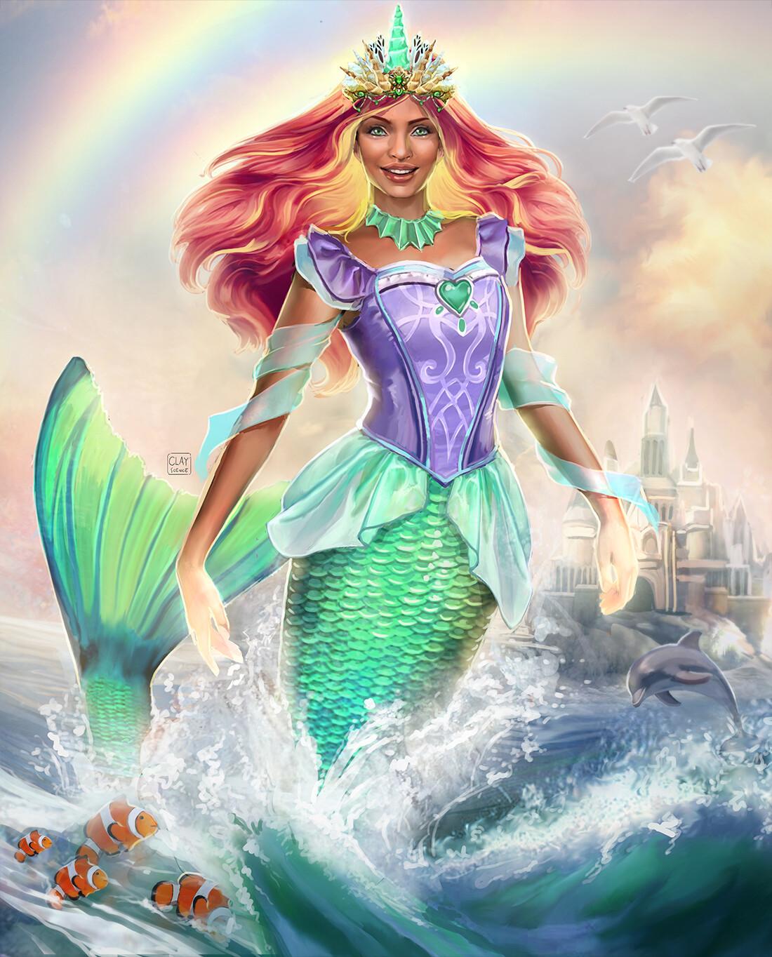 ArtStation - The Little Mermaid, Luke Maddox | Dark