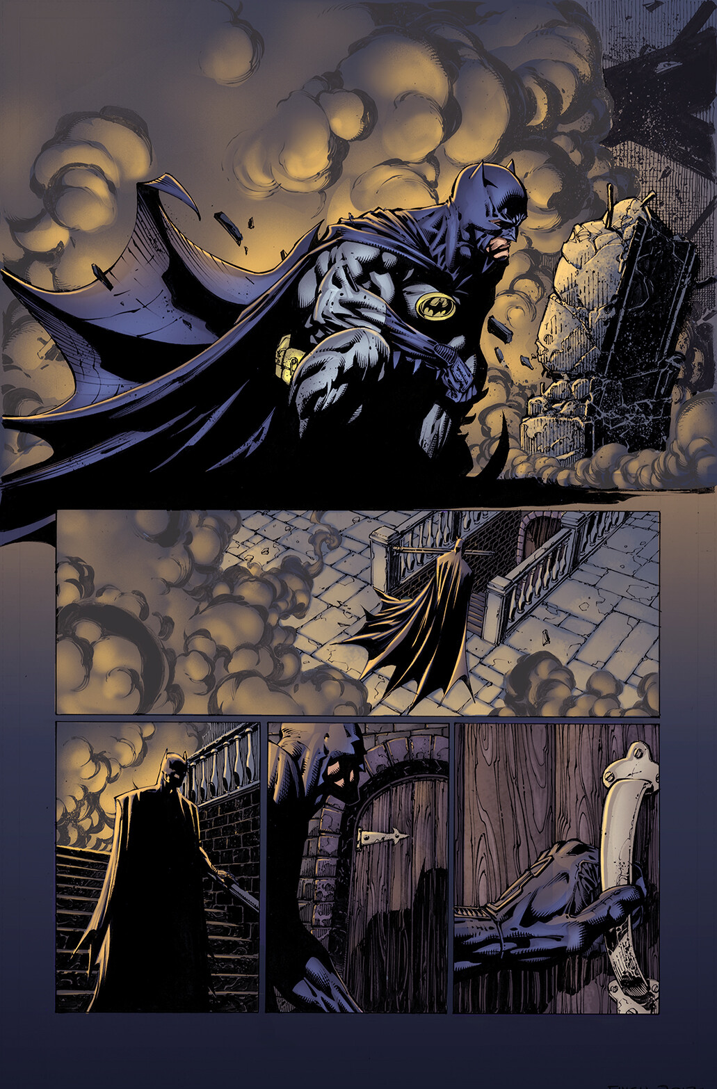 Dark Night Page - Practice Colours