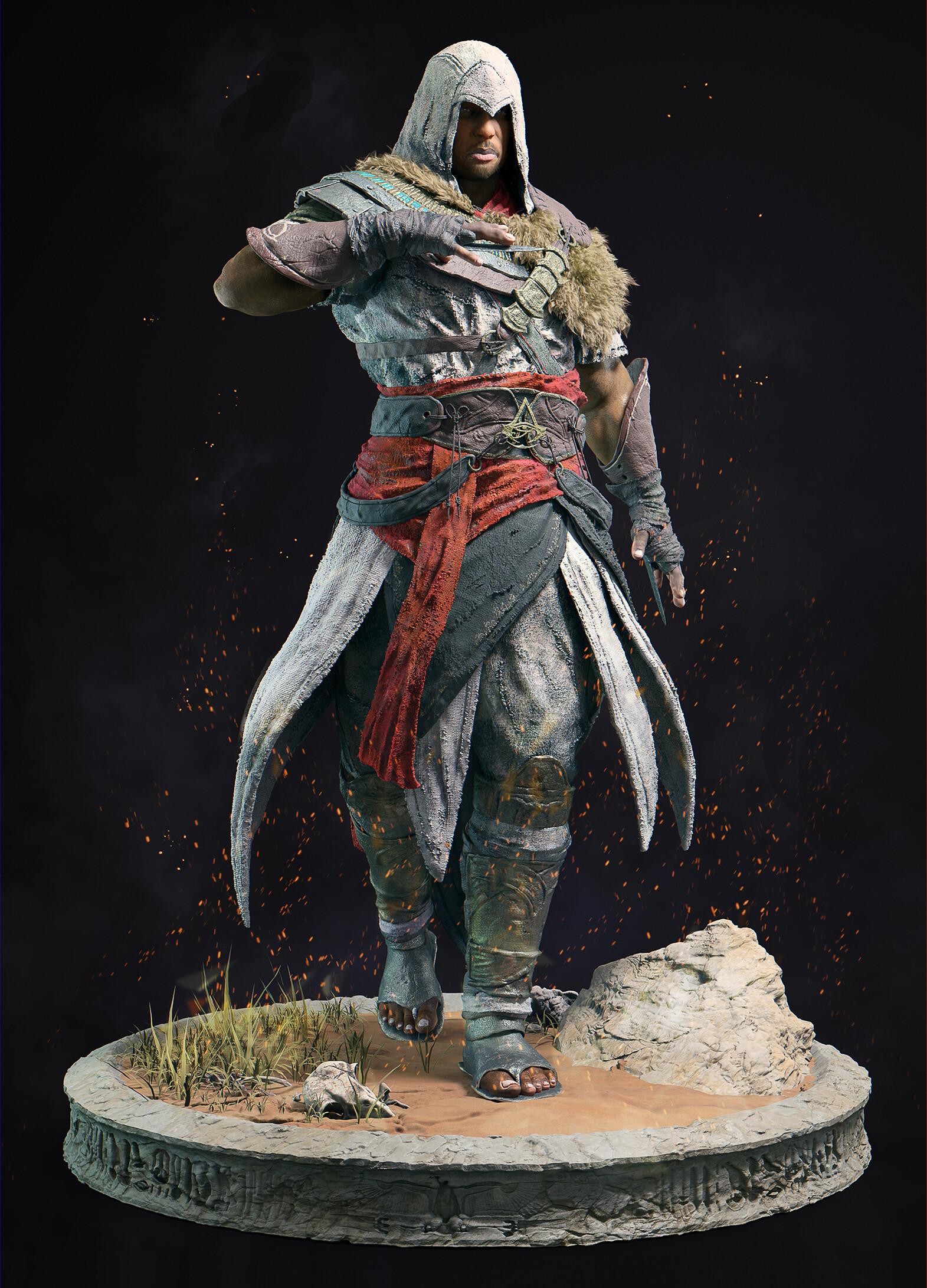 Artstation Assassin S Creed Origins Bayek 3d Modeling And