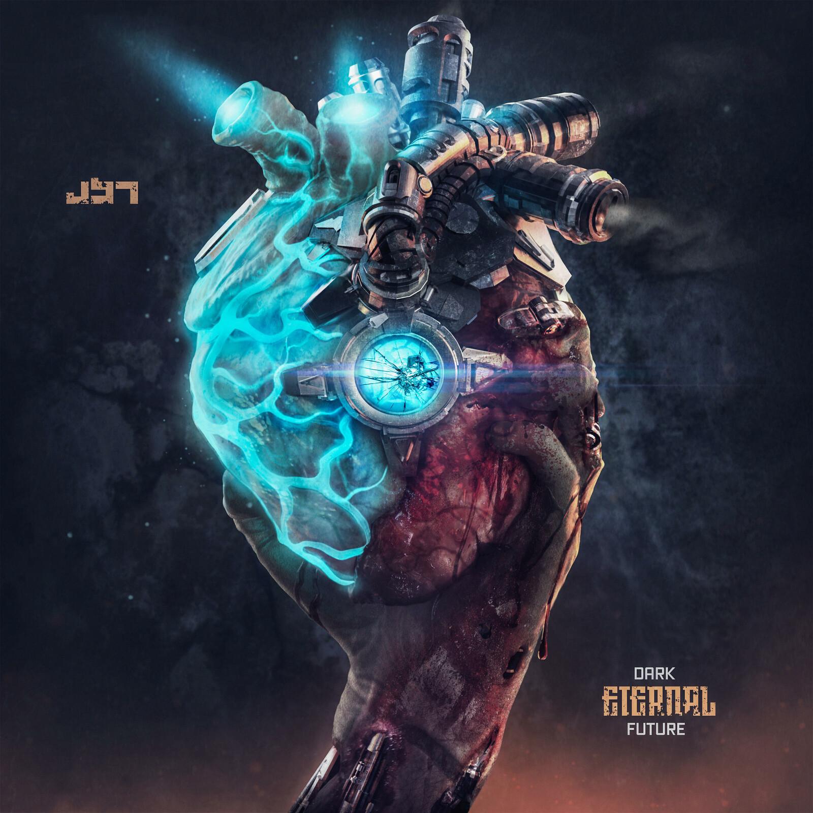 Dark Eternal Future - Album Cover