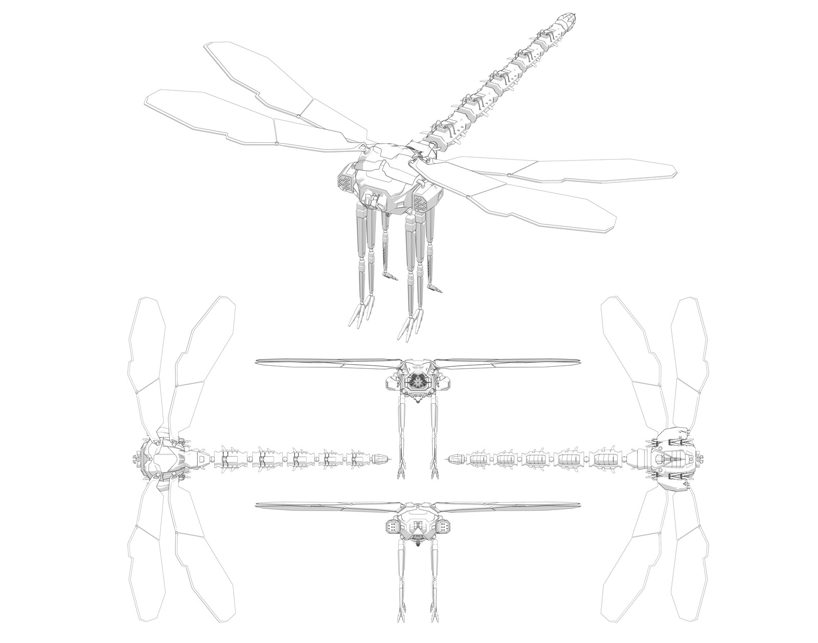 Dragonfly Mech