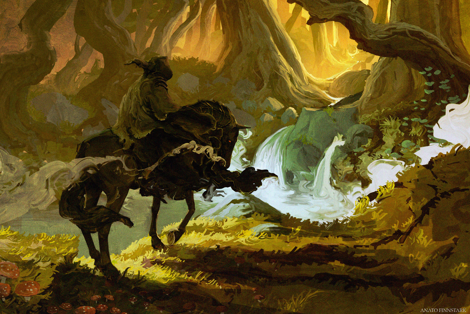 Nazgûl hunting