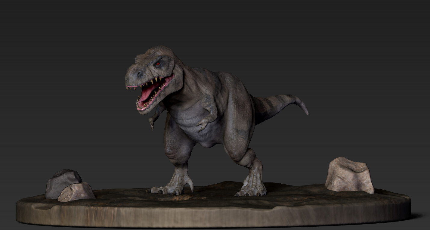 High_poly sculpt with poly paint