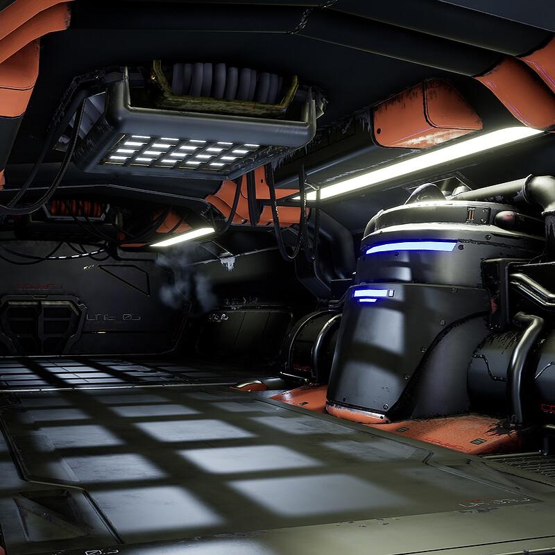 Sci-Fi Corridor -Modular Kit-