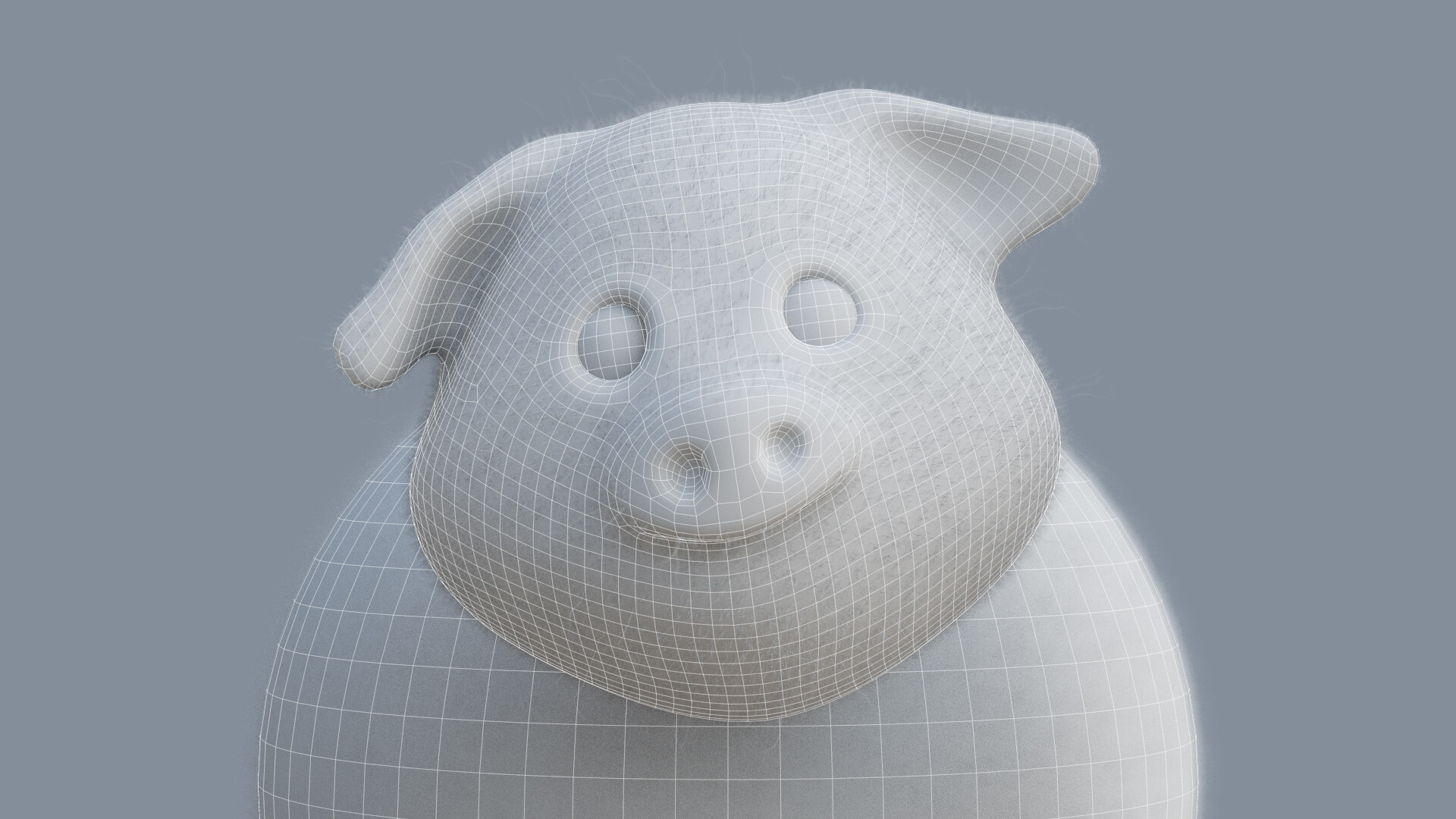 Clay and Wireframe