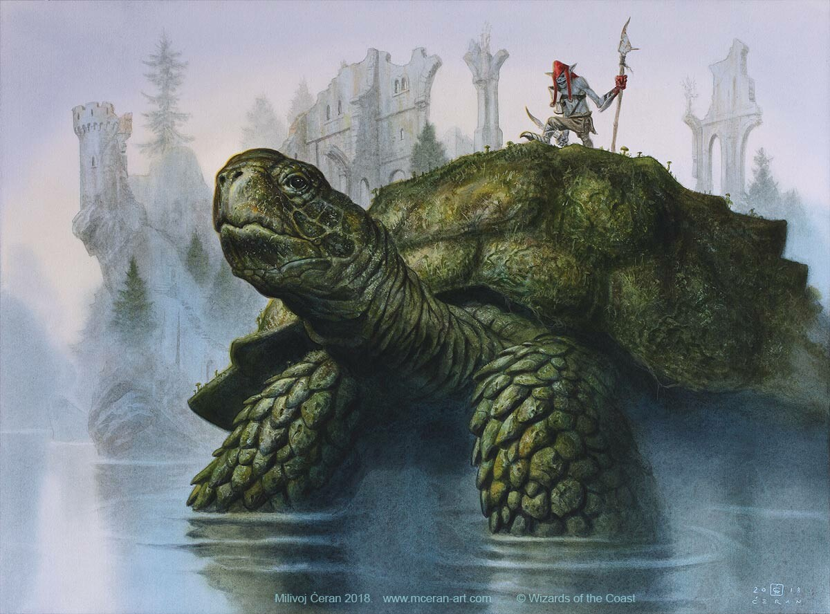 """Mistford River Turtle"" Milivoj Ćeran 2018.
