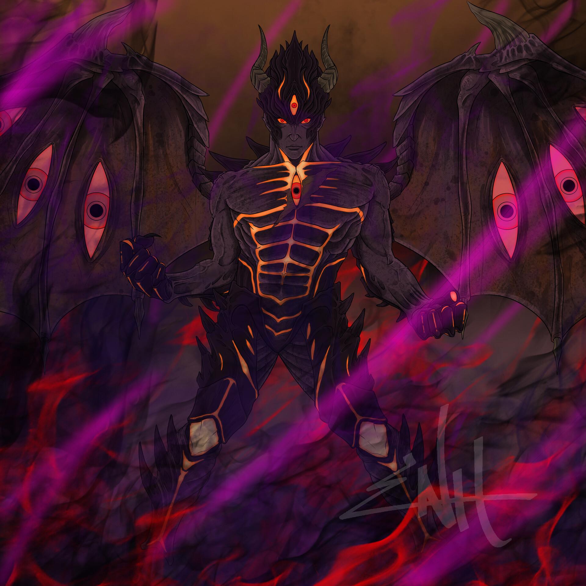Artstation Devil Kazuya Ldon Hermoso