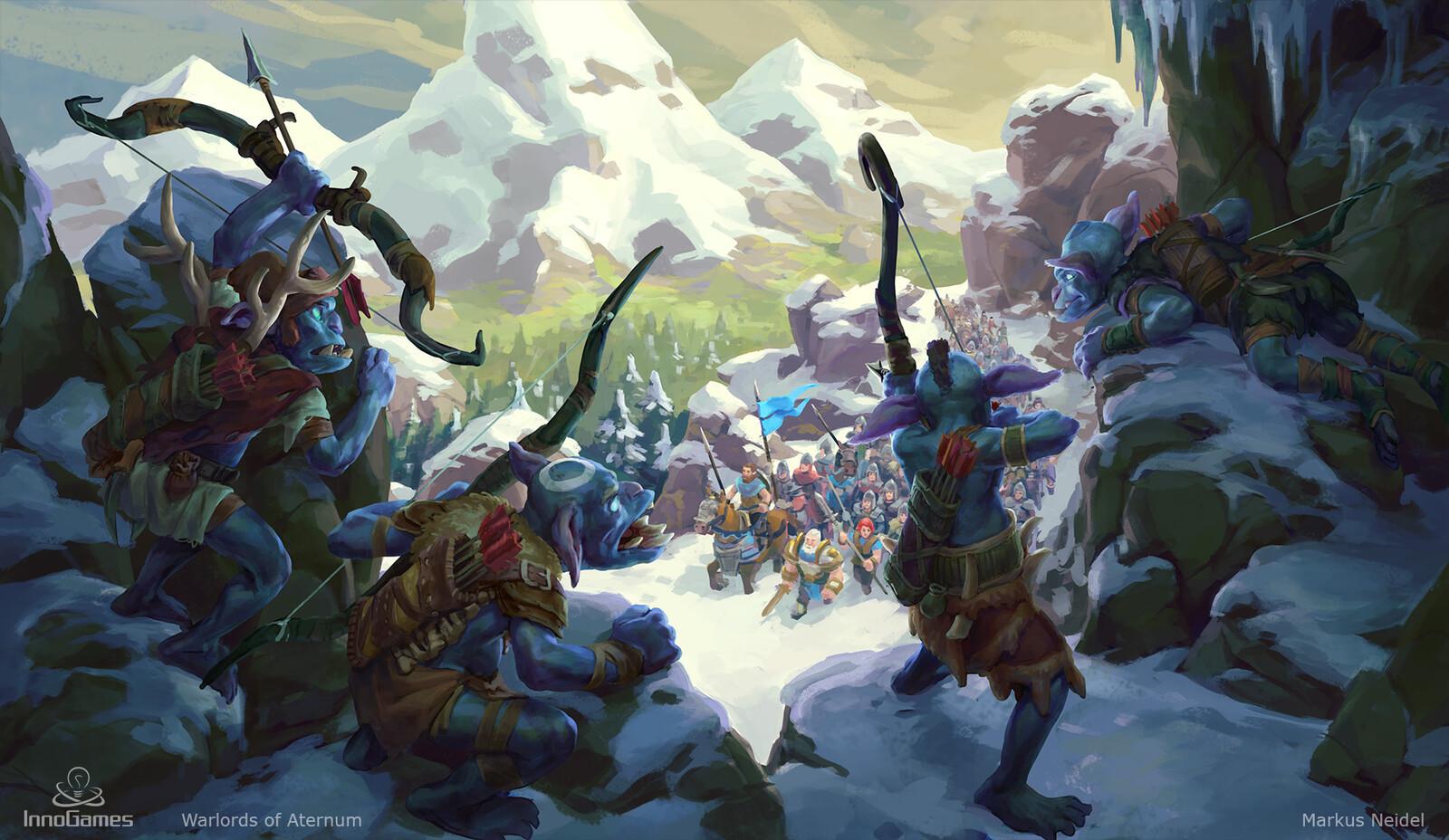 Snow Orcs Ambush