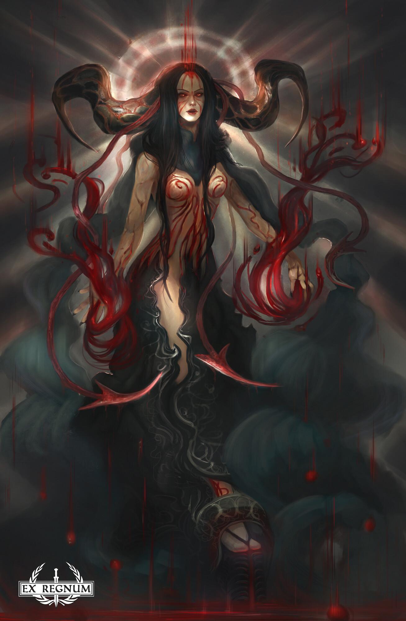 Lorenn tyr blood demon by lorenn tyr