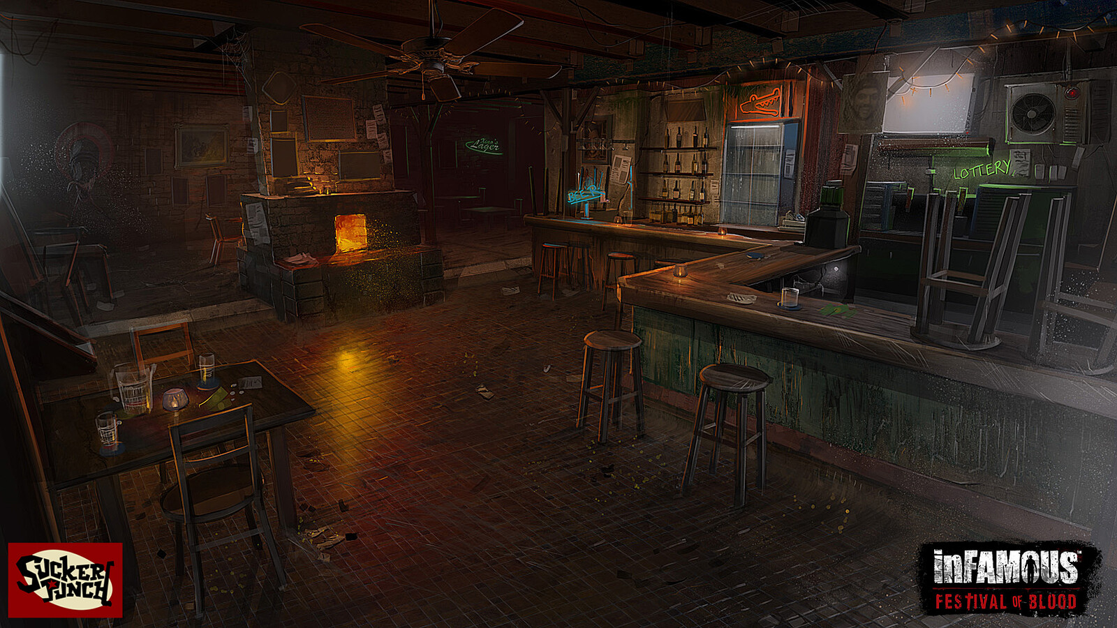 Cinematic concept for bar that Zeke told the Blood Mary story in