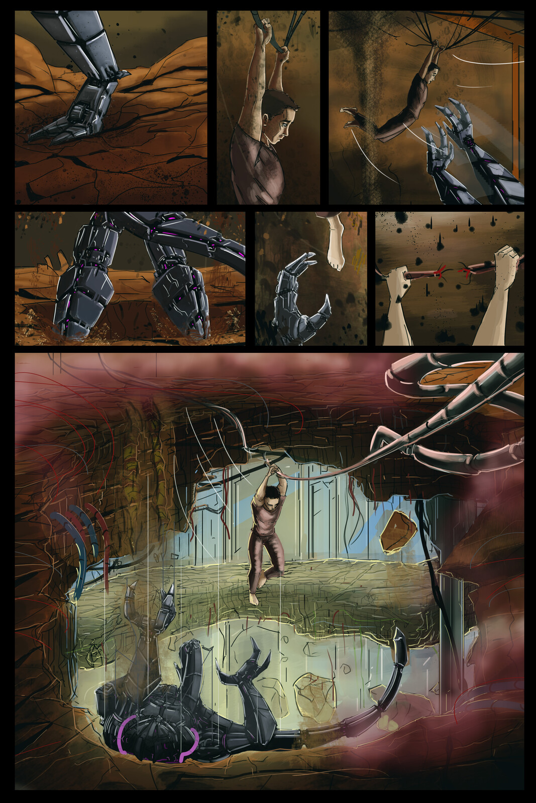sci fi comic thing i am working on i dunno...