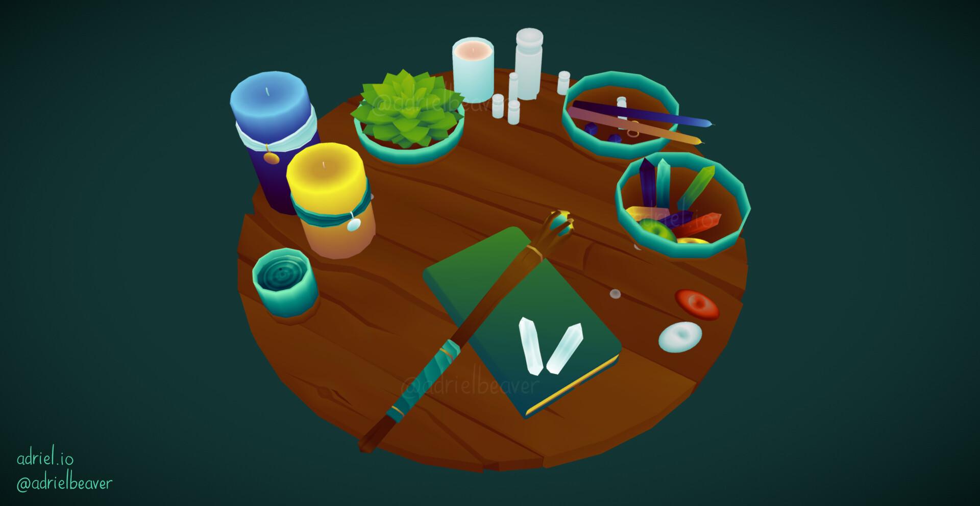 Adriel beaver witch altar