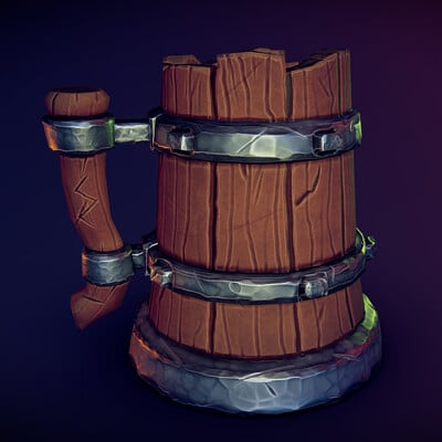 Tolunay genc wooden mug
