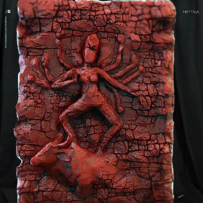 Surajit sen mrittika digital sculpture surajitsen sept2019