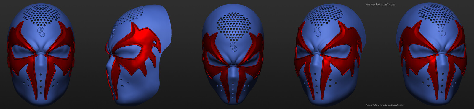 Spiderman 2099 Mask