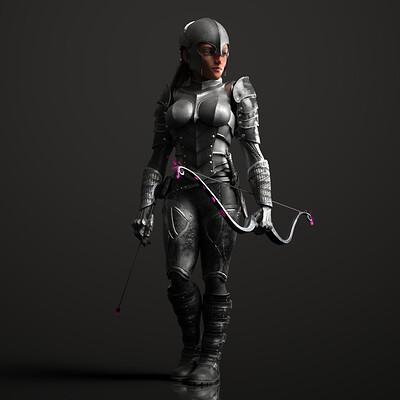 Tokomotion toko femalearcher 01