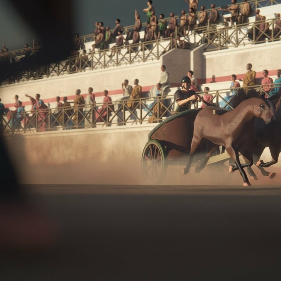 Responsible for the horses modelling and the character's modelling, texturing and rigging.