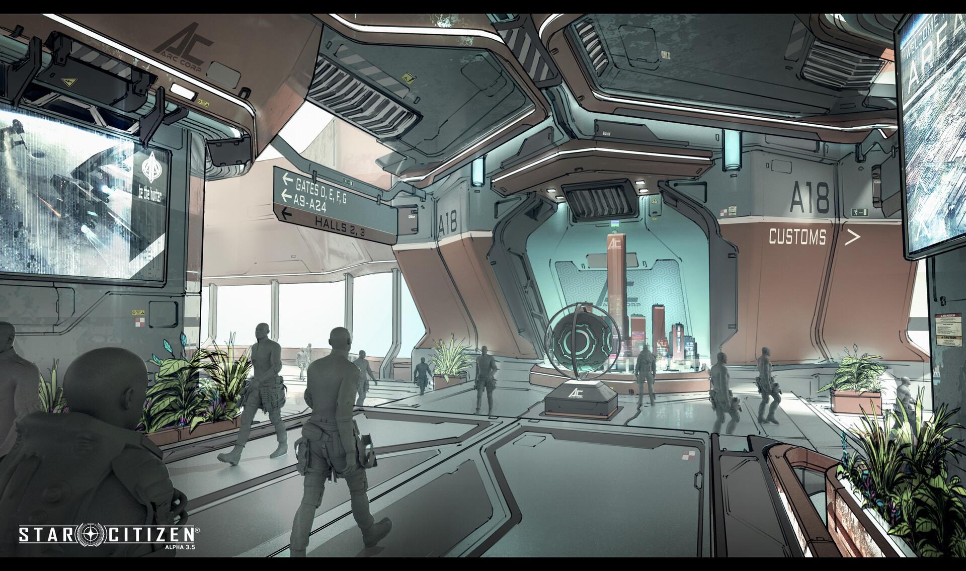 space port interior 4
