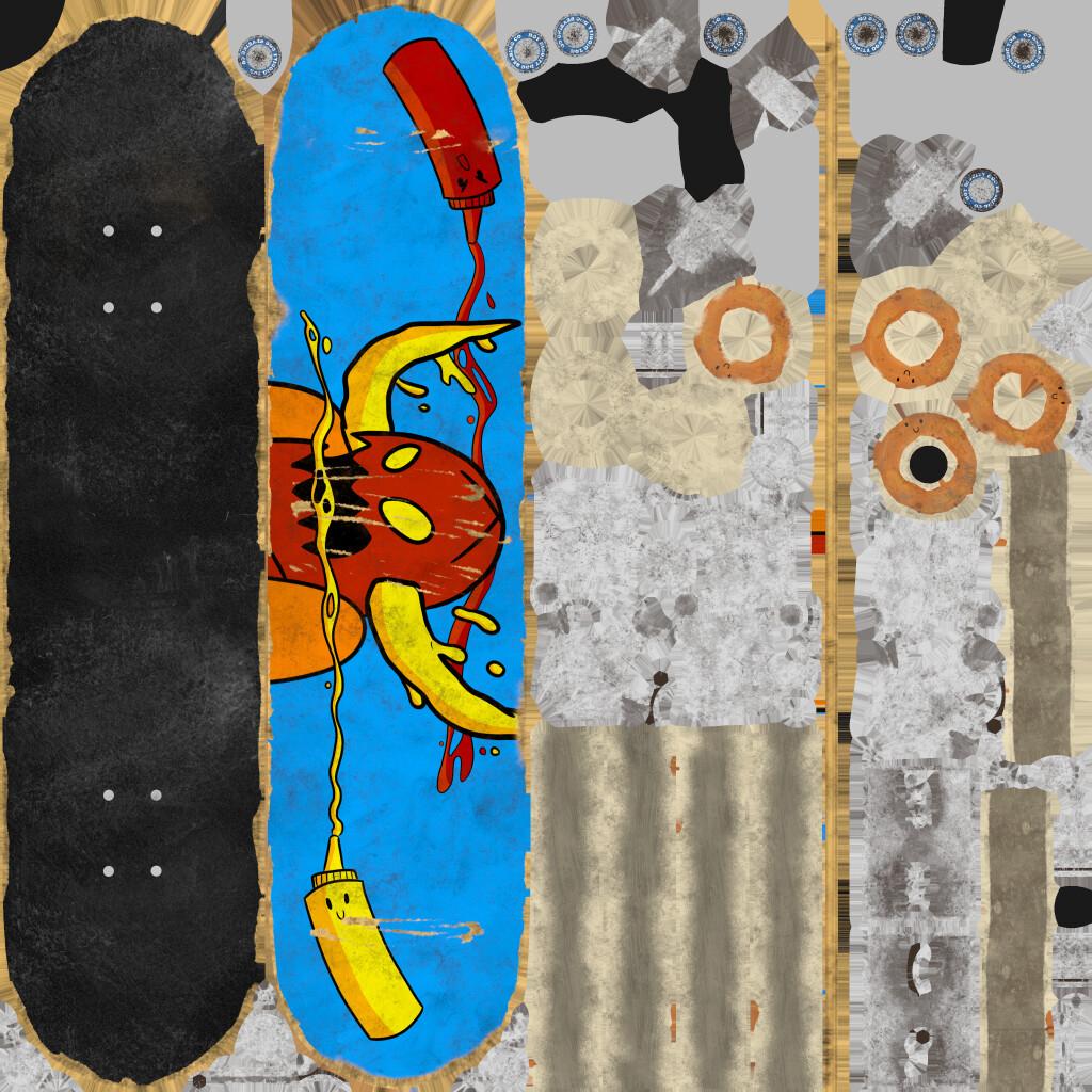 Skateboard Diffuse