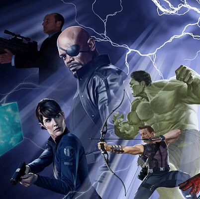 Carlos gollan poster avengers web