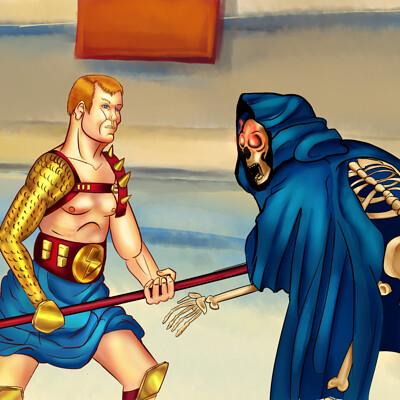 Juan meza gladiator