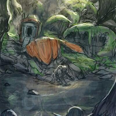 Olie boldador sketch 6592