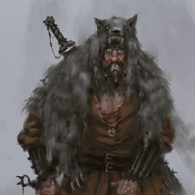Jakub rozalski something in the mistsmall