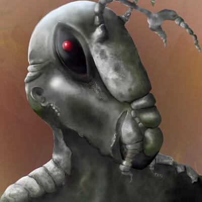 An Orthopteran/Human Hybrid