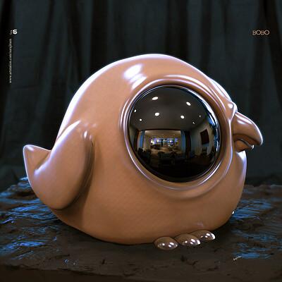Surajit sen bobo v1 digital sculpture surajitsen 2019