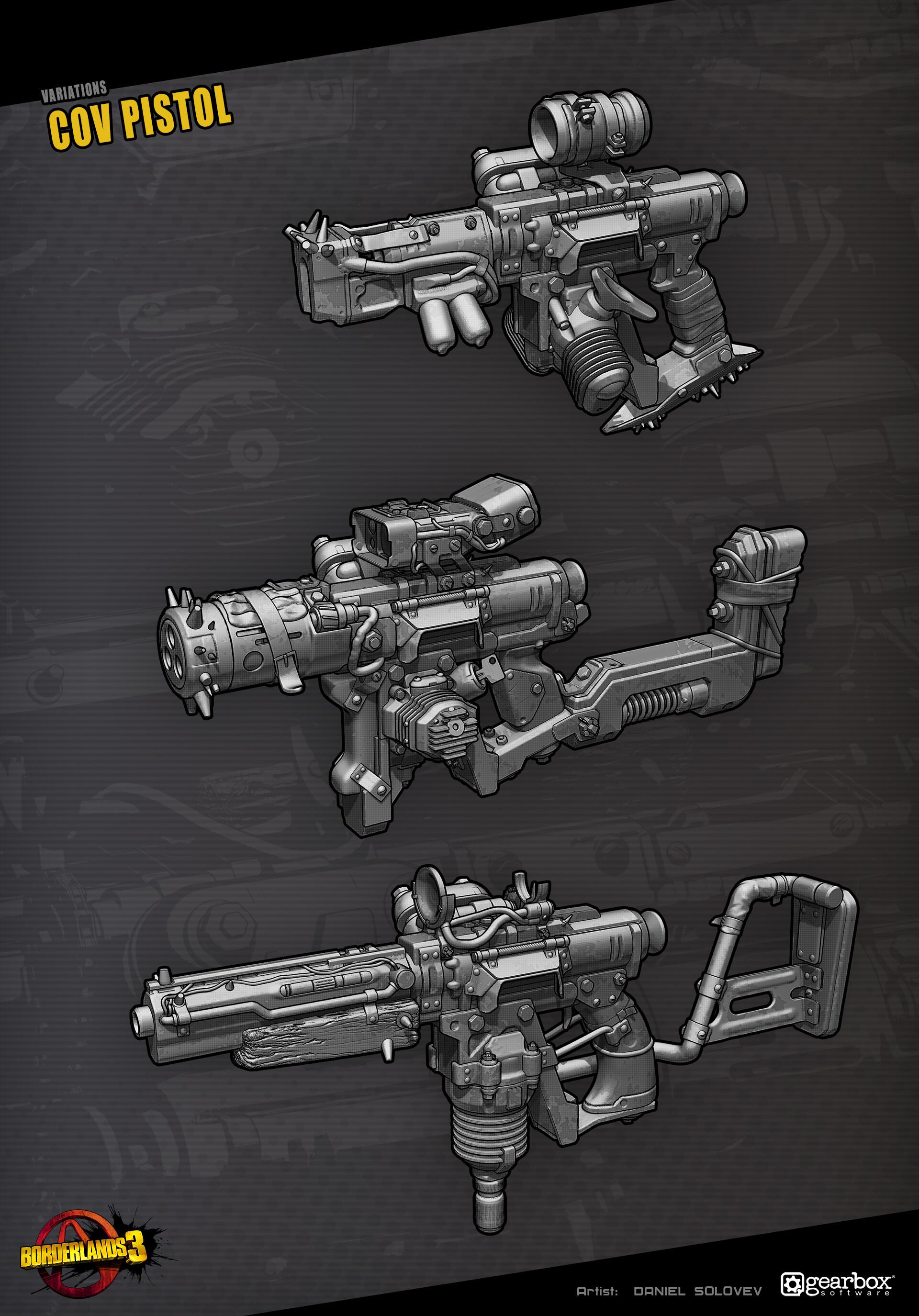 Daniel solovev cov pistol artblast 1