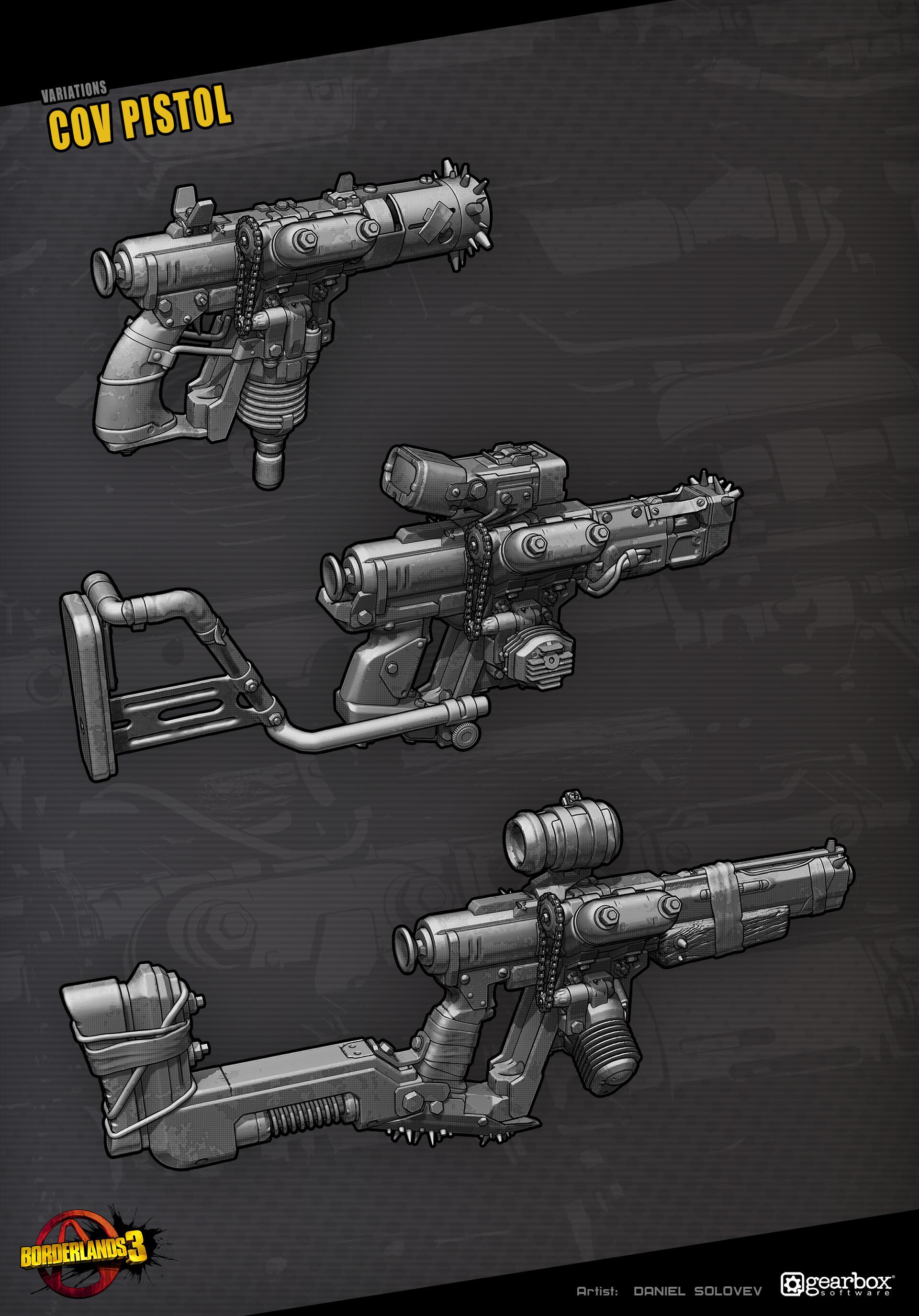 Daniel solovev cov pistol artblast 2