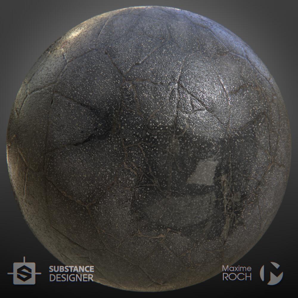 Maxime roch asphaltbrokenwet sphere beauty v001