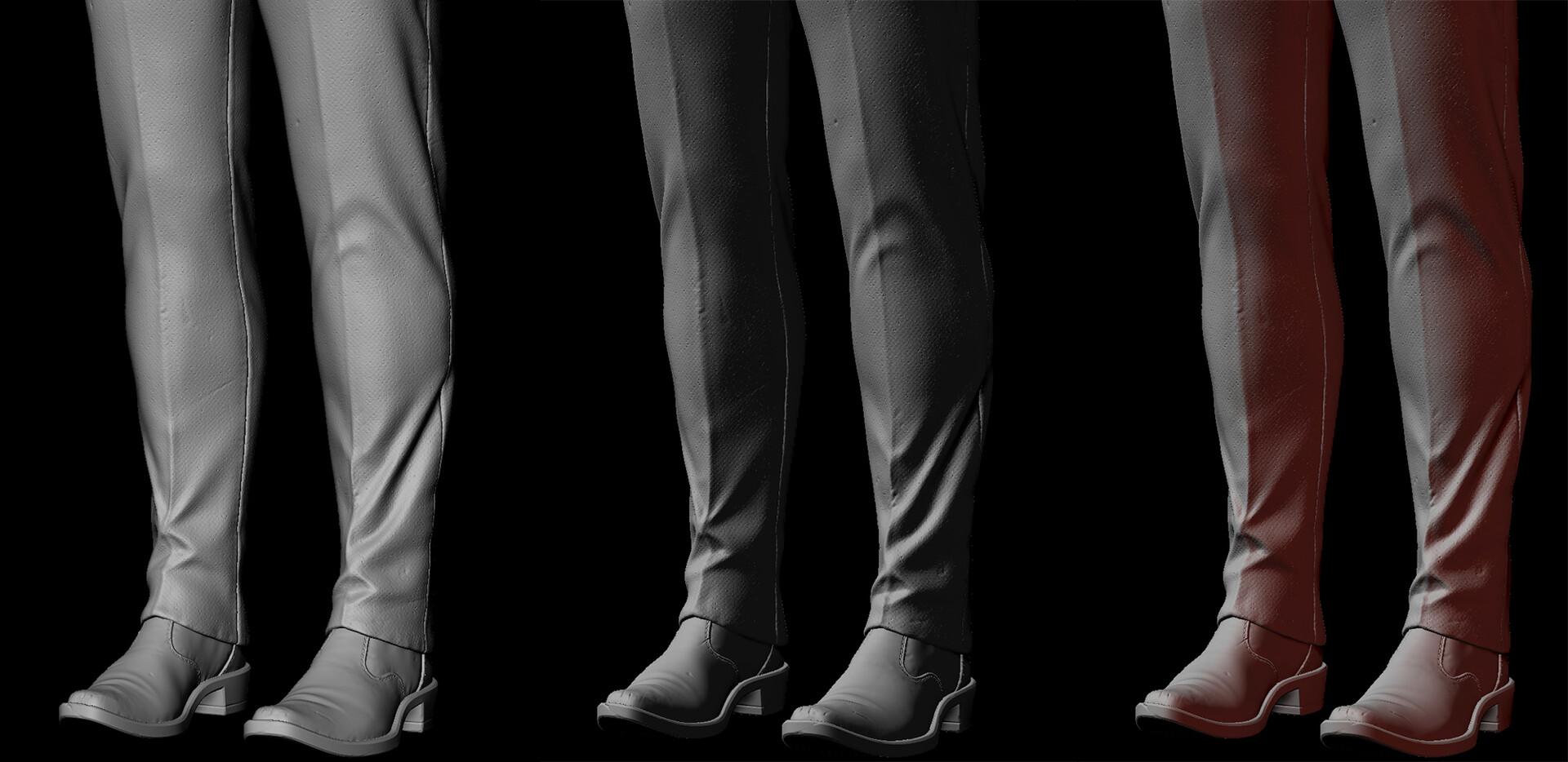 Loraine howard iii pants shoes