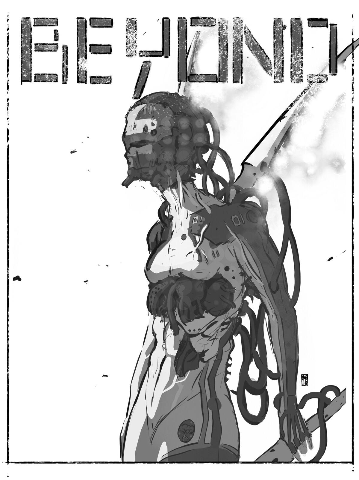 Doodling/fake cover