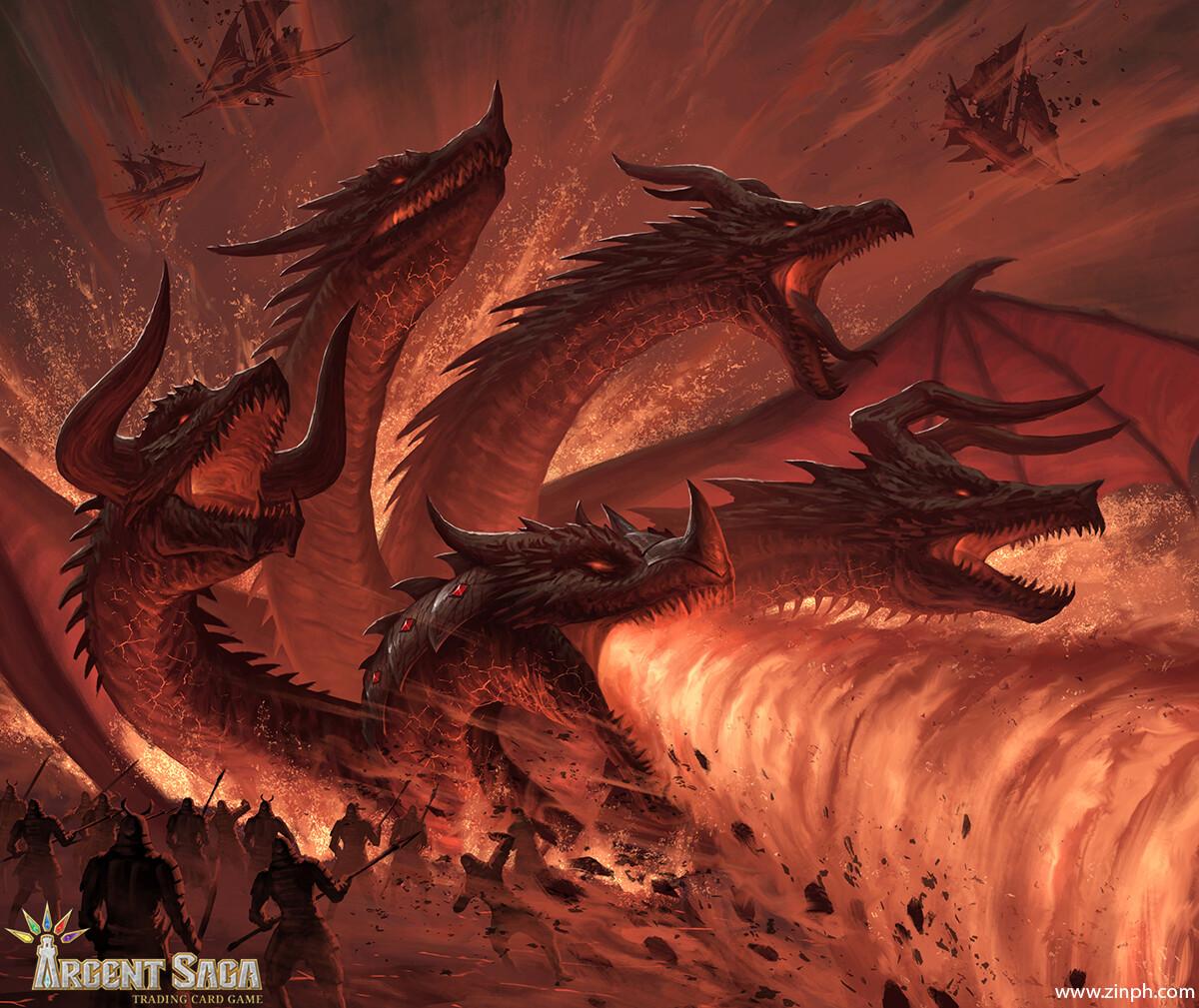 Vinh pham 1901 bahamute dragonic deity 08