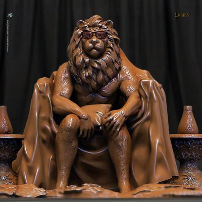 Surajit sen liches digital sculpture surajitsen sept2019