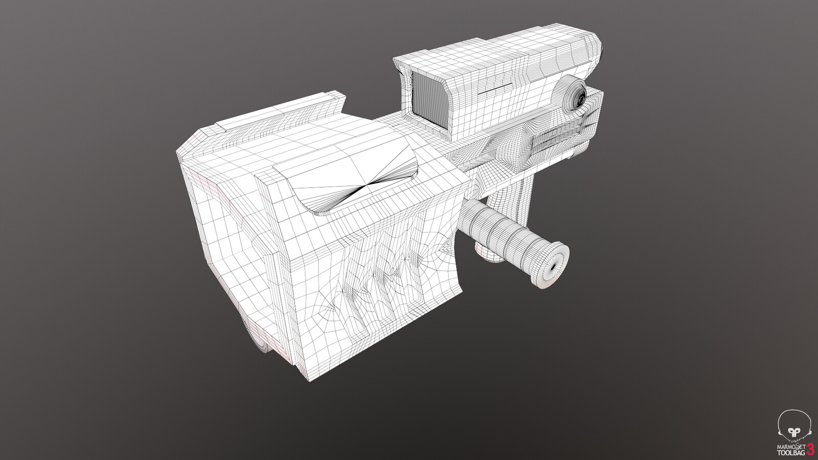 Wireframes. Never went back to fix topology so its a bit of a mess