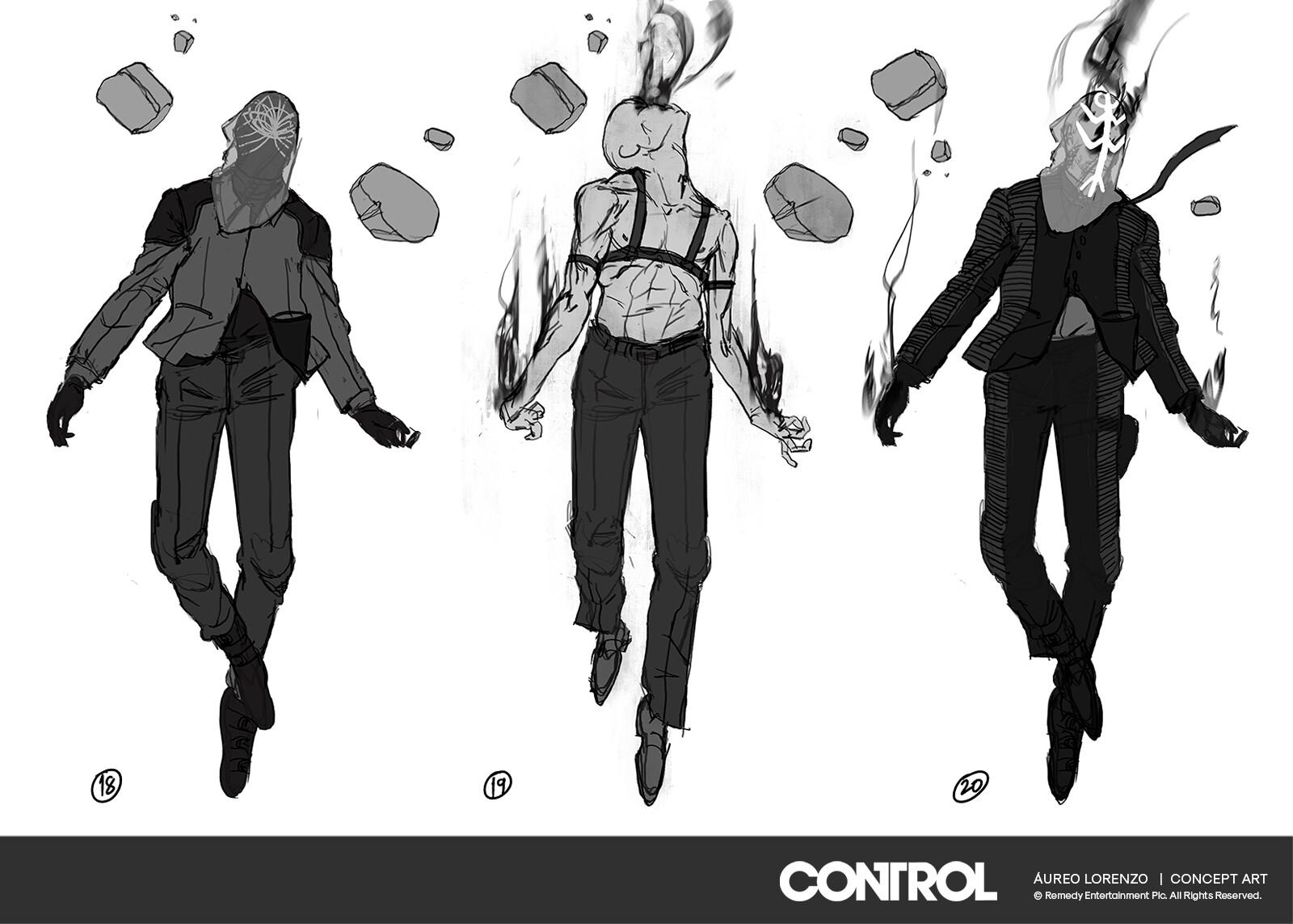 Control Remedy Concept Art